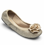 Lindsay Phillips Neutral Canvas Liz Ballet Flats