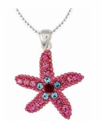 Swarovski Crystal Starfish Necklace