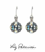 Swarovski Crystal Large Cushion Drop Leverback Earrings by Liz Palacios