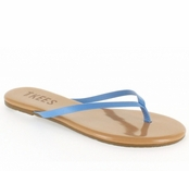 Tkees Colored Tips Collection Sky Diver Leather Sandals