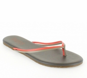 Tkees Duos Collection Melon Mud Leather Sandals