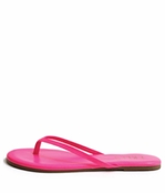Tkees Zincs Collection Neon Pink Leather Sandals