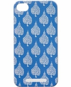 Crete Blue Texture Iphone 4/4S Case by rockflowerpaper