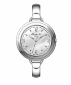 Women's Silver Bangle Watch by Kenneth Cole