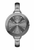 Women's Gunmetal Bangle Watch by Kenneth Cole