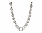 Swarovski Crystal Channels Necklace by Kenny Ma