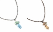 Swarovski Crystal Briolette & Channels Pendant Necklace by Kenny Ma