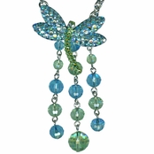 Kirks Folly Dragonfly Dazzler Necklace