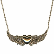 Always Faithful Necklace by Kirks Folly