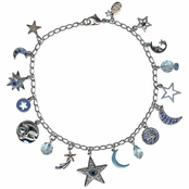 Blue Moon Fairy Anklet by Kirks Folly