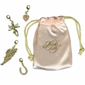 Lucky In Love Wing Charm Set by Kirks Folly