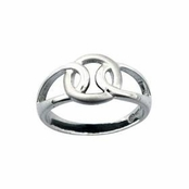 Celtic Interloop Ring by Kit Heath