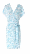 Hibis-Kiss Short Robe by Lilly Pulitzer