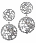 An Affair to Remember Filigree Circle Earrings by Spring Street