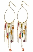 Maharaja Palace Beaded Drop Earrings by Spring Street