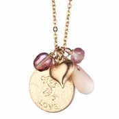 Love Charm Necklace by Danielle Stevens