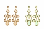 Spring Street Luminosity Chandelier Earrings