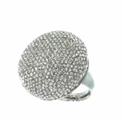 Jet Setter Pave Dome Ring by Spring Street
