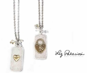 Elemontos Dog Tag Necklace by Liz Palacios