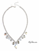 Swarovski Crystal Multi Drop Necklace by Liz Palacios