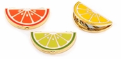 As Seen In Better Homes and Gardens! Citrus Slice Compact Mirror