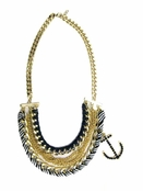 Nautical Mixed Chain Necklace by Spring Street