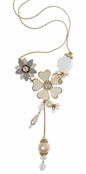 Spring Street Secret Garden Flower Illusion Necklace