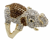 Spring Street Treasure Chest Elephant Ring