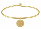 Baroni  Gold Add-A-Charm Bangle Bracelet