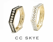 Soho Deco Bangle by CC SKYE