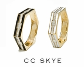 Monaco Deco Bangle by CC SKYE