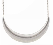 Low Luv by Erin Wasson Silver Crescent Necklace