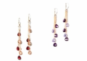 Embellish CZ Briolette Drop Earrings