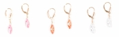 Simply Irresistible CZ Drop Leverback Earrings