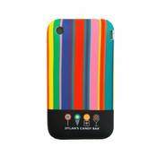 Dylan's Candy Bar Scented Stripes iPhone Cover for 3G and 3GS