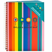 Dylan's Candy Bar Stripes Mini Notebook