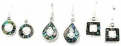 Abalone Inlay Earrings