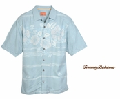 Hibiscus Fade Away Silk Camp Shirt by Tommy Bahama