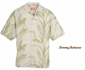 Loredo Leaves Silk Camp Shirt by Tommy Bahama