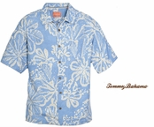 Vista Isla Impressions Silk Camp Shirt by Tommy Bahama