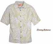 Twine Isla Impressions Silk Camp Shirt by Tommy Bahama