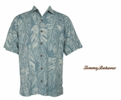 Capri 5 Spice Frond Silk Camp Shirt by Tommy Bahama
