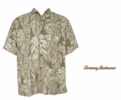 Twine 5 Spice Frond Silk Camp Shirt by Tommy Bahama