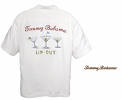 Lip Out Signature Silk Camp Shirt by Tommy Bahama