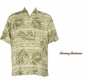 Frond Music Silk Camp Shirt by Tommy Bahama