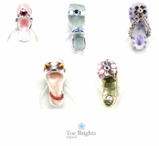 Sandal Illusion Band Toe Ring by Toe Brights