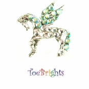 Pegasaurus Crystal Toe Ring by Toe Brights