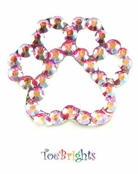 Crystal Paw Toe Ring by Toe Brights