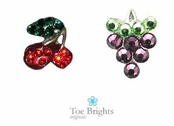 Crystal Fruit Illusion Band Toe Ring by Toe Brights