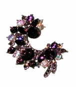 Swarovski Crystal Elizabethan Brooch by Toe Brights